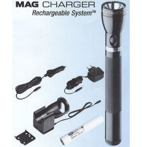 Mag Charger Rechnargeable System - schwarz - das Spitzenmodell des MAG-LITE® Sortiments - Nr. 4780