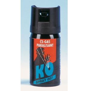 KO-Spray - CS-Gas - 40 ml Inhalt|  Grundpreis pro 100ml: € 14,88