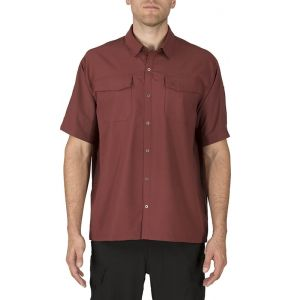 5.11 Freedom Flex Woven Short Sleeve Shirt-Spartan