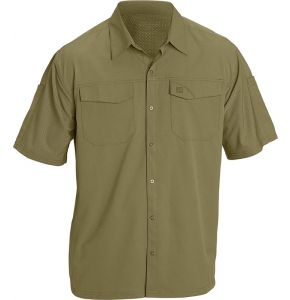 5.11 Freedom Flex Woven Short Sleeve Shirt-Underbrush
