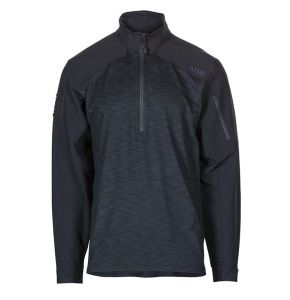 5.11 Rapid Half Zip Shirt - Dark Navy