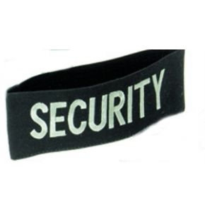 "Armbinde mit Aufdruck ""SECURITY"""