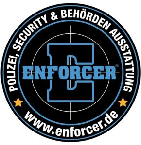 Rubber Patch ENFORCER rund - Nr. 9001