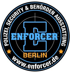 ENFORCER Rubber Patch Berlin (bunt & rund)