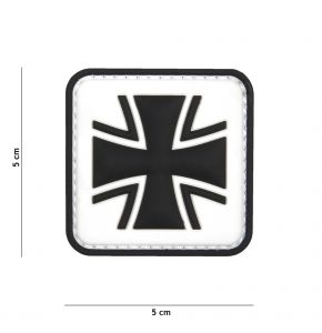 Rubber Patch Bundeswehr-Kreuz in Gr. 5 x 5 cm